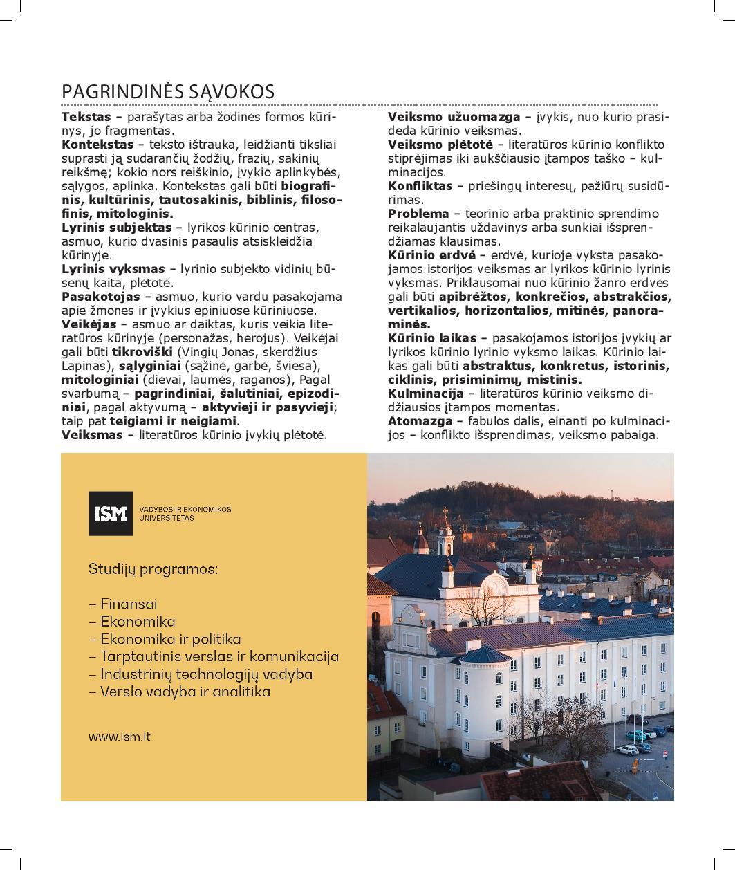 Lietuvių k. literatūra