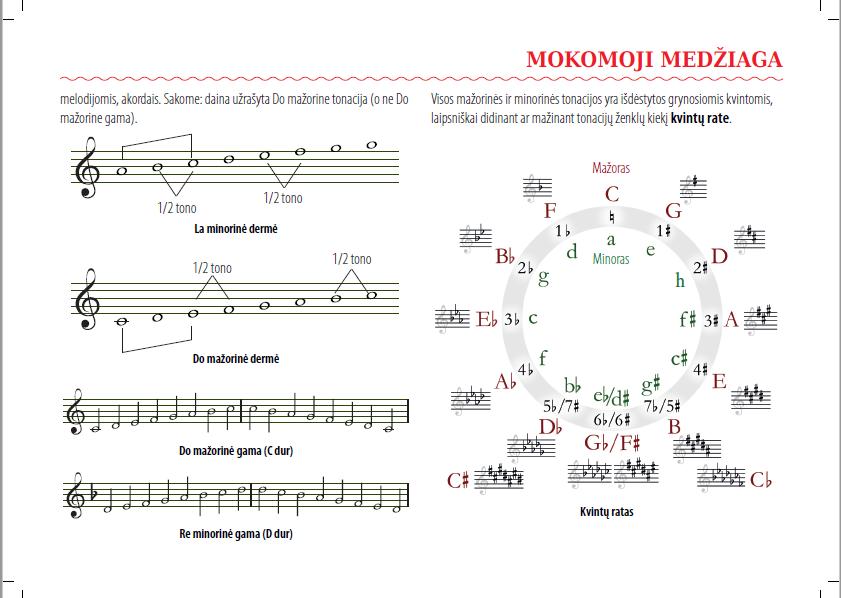 Muzikos formulių sąsiuvinis